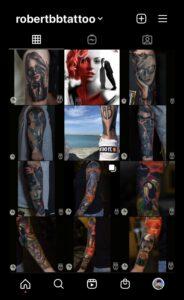 Tattoo Art by Robert BB
